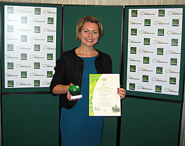 Green-Apple-Award-Winner