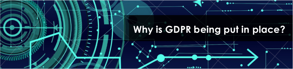 Why is GDPR being put in place?