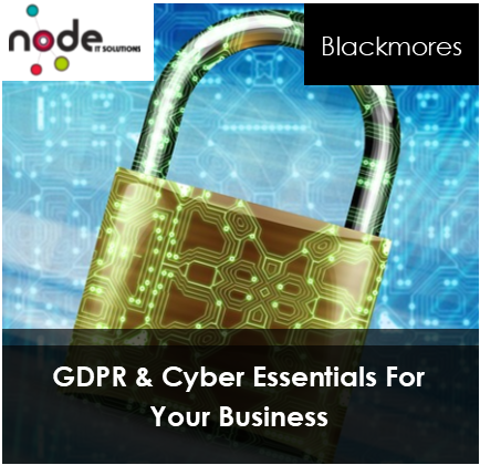 Forthcoming Event – GDPR and Cyber Essentials For Your Business