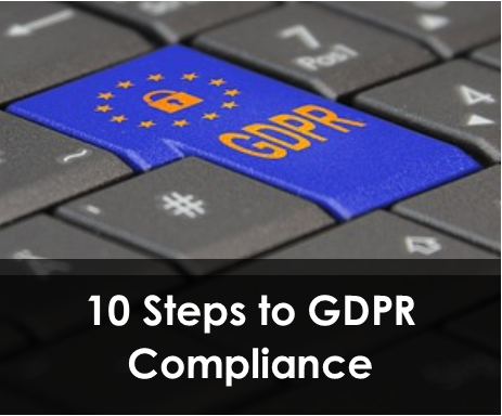 10 Steps to GDPR Compliance