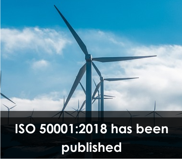 ISO 50001:2018 has been published