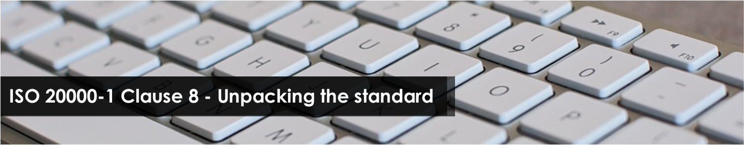 ISO 200001 clause 8 unpacking the standard