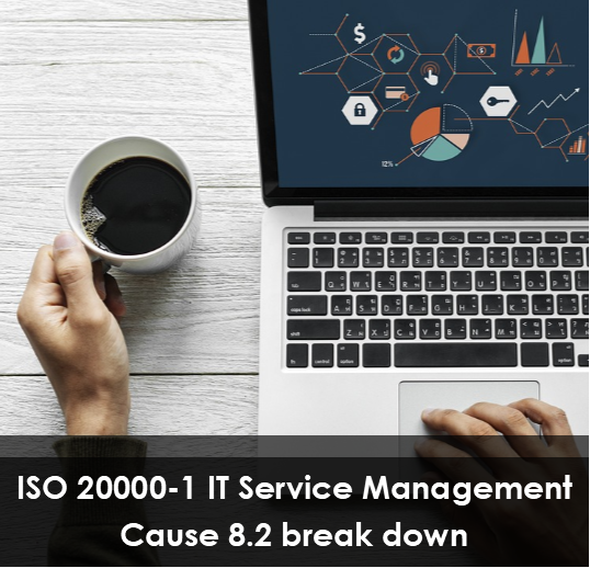 ISO 20000-1 IT Service Management – clause 8.2 break down