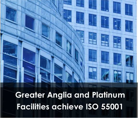Platinum Facilities and Greater Anglia achieve ISO 55001