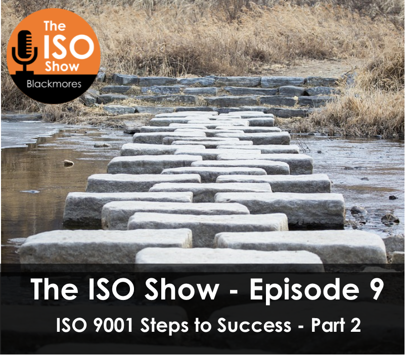The ISO Show – Episode 9: ISO 9001 Steps to success – Part 2