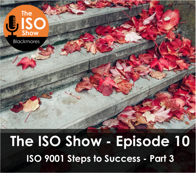 The ISO Show Episode 10 -ISO 9001 Steps to Success – Part 3
