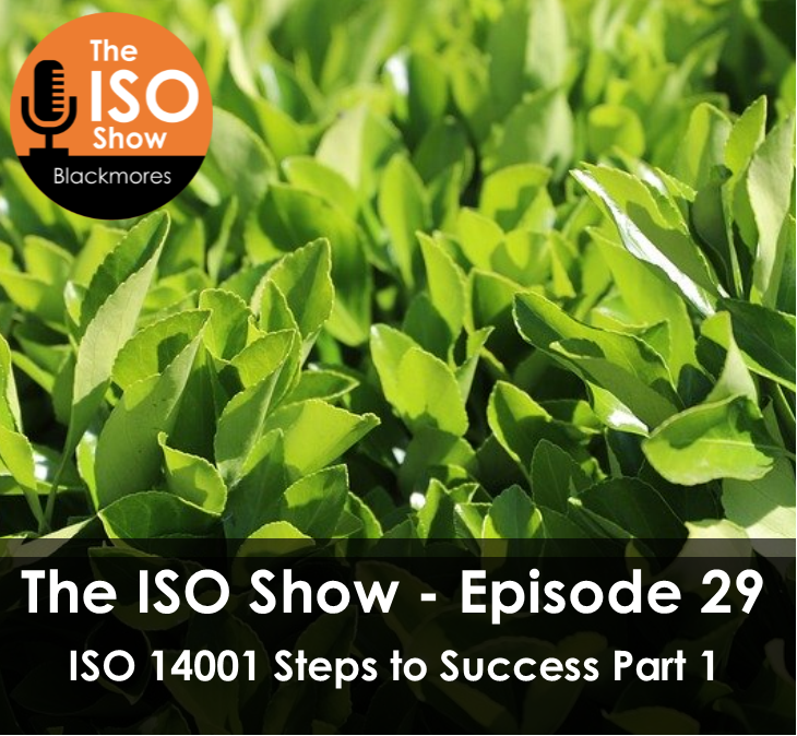The ISO Show: Episode 29 – ISO 14001 Steps to Success Part 1