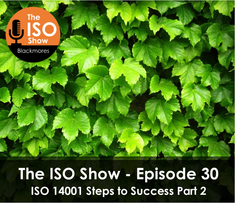 The ISO Show: Episode 30 – ISO 14001 Steps to Success Part 2