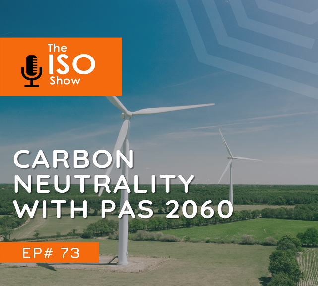 #73 Carbon neutrality with PAS 2060