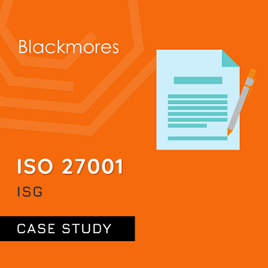 ISO 27001 Case Study for ISG