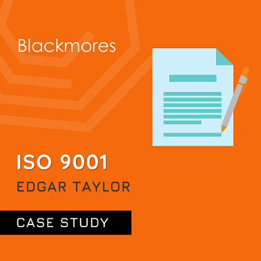 ISO 9001 Case study for Edgar Taylor